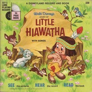 Walt Disney's Story of Little Hiawatha 45rpm
